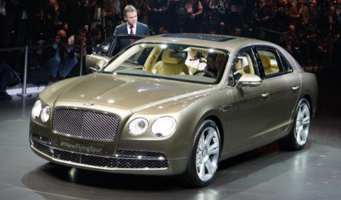 Bentley Flying Spur Salon de Ginebra 2013