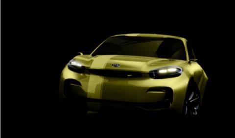 Kia Cub: un nuevo compacto en el Salón de Seúl 2013