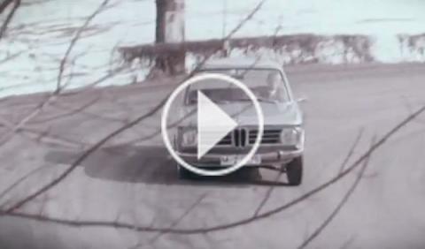 BMW resucita el '02' en vídeo como adelanto del Serie 2