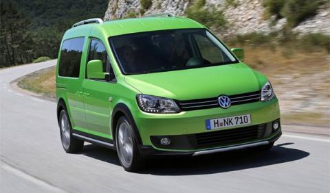 Volkswagen Caddy Pick-up Concept: una furgoneta de 250 CV