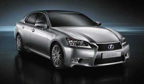 Lexus GS 300h: debut en el Salón de Shanghai 2013
