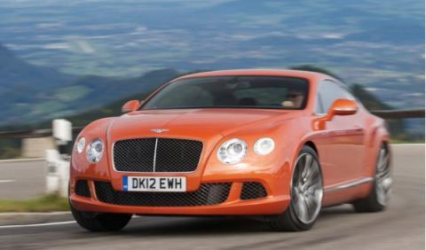 Bentley Continental de cuatro puertas