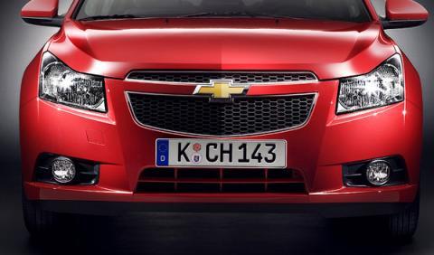 Descubierto el interior del Chevrolet Cruze 2014