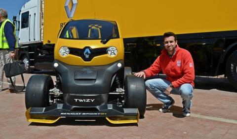 Renault Twizy Renault Sport F1 frontal Valladolid
