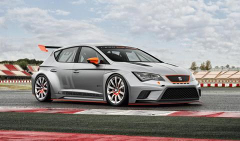 Seat Leon Cup Racer frontal