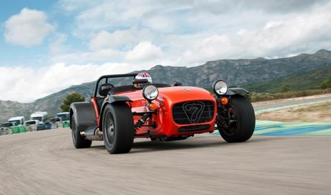Caterham Seven 485 R FRONTAL