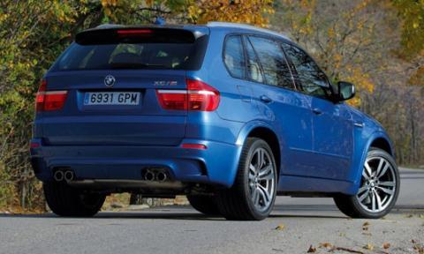 BMW X5 M 2013, cazado sin apenas camuflaje