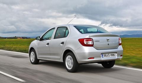 Trasera del Dacia Logan 2013