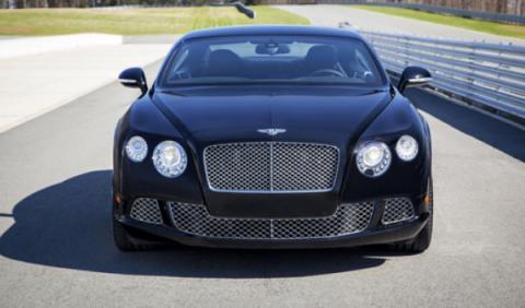 Bentley Le Mans Edition frontal