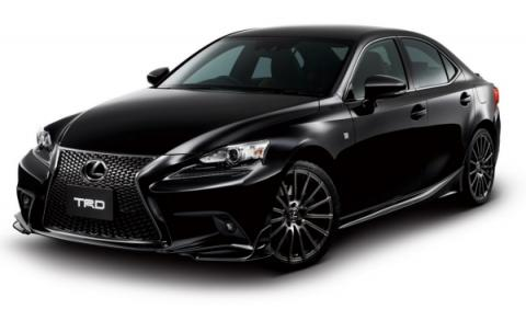 Lexus IS F Sport 2014 TRD frontal