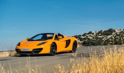 McLaren 12C 50 Aniversario delantera