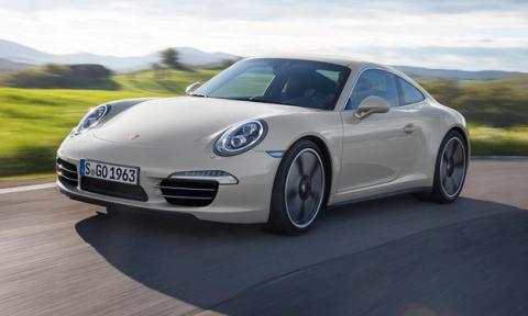 Porsche 911 50 Aniversario Salón de Frankfurt 2013