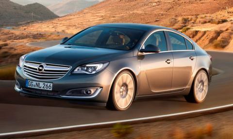 Opel Insignia 2013 delantera