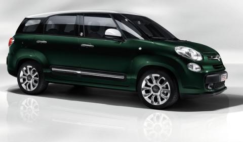 Fiat 500L Living delantera