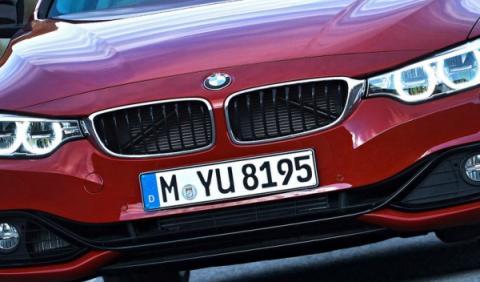 BMW Serie 4 M Cabrio, cazado a plena luz del día