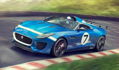 Jaguar Project 7 Concept, Goodwood Festival, presentación, Jaguar