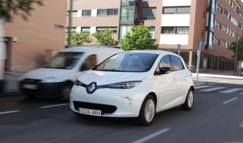 Renault ZOE frontal