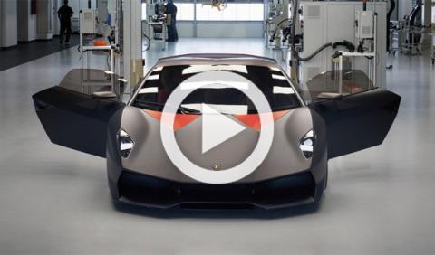 Fabrican un Lamborghini Sesto Elemento con chatarra