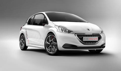 Peugeot 208 Hybrid FE frontal