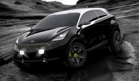 Kia Niro Concept 3/4 Delantera