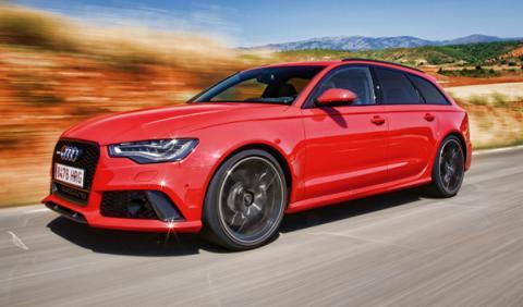 Audi RS6 Avant delantera