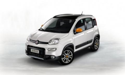 Fiat Panda 4x4 Antartica delantera