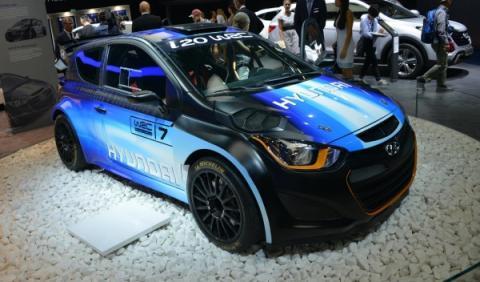 Hyundai i20 WRC, en el Salón de Ginebra 2013