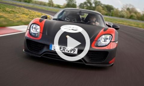 """El Porsche 918 Spyder: ¡6'57"""" en Nürburgring!"""