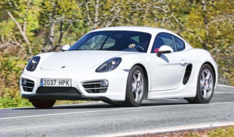 Porsche Cayman PDK 2013 frontal