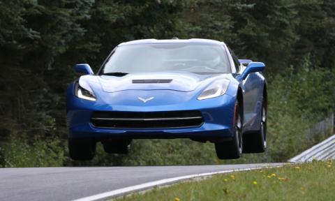 Corvette Stingray salto