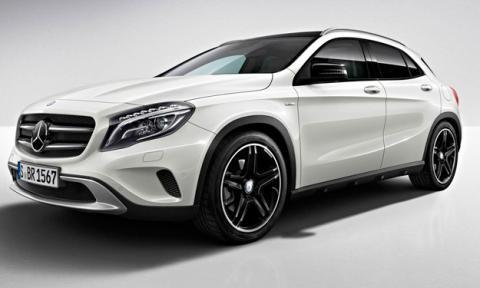 Mercedes GLA Edition 1 delantera