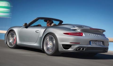 Porsche 911 Turbo trasera