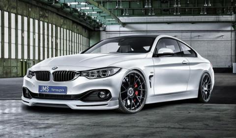 BMW Serie 4 preparado por JMS: aún más deportivo