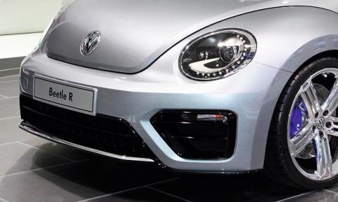 El Volkswagen Beetle R ha sido pillado