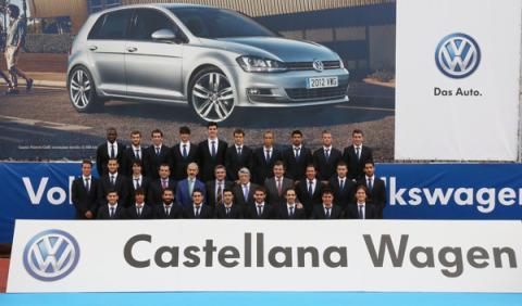 entrega volkswagen golf jugadores atlético de madrid