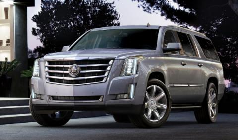Cadillac Escalade frontal