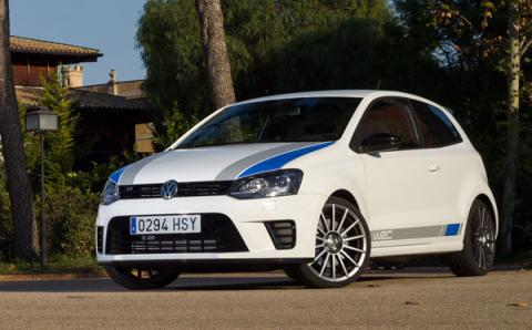 VW Polo R WRC frontal