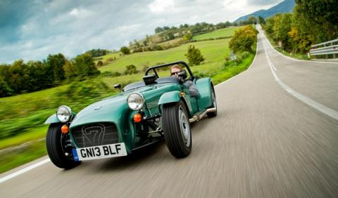 Caterham Seven 165 frontal