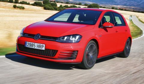 Volkswagen Golf GTD 2013 frontal