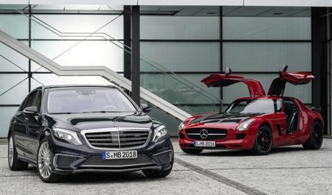 Mercedes S 65 AMG y Mercedes SLS AMG GT Final Edition primera