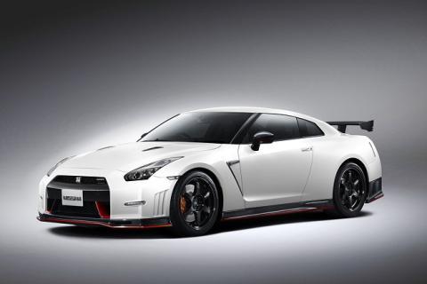 Nissan GT-R Nismo delantera