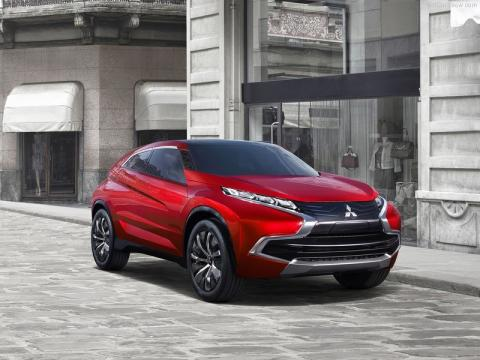 Delantera del Mitsubishi XR-PHEV Concept