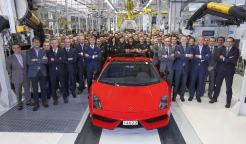Adiós al último Lamborghini Gallardo