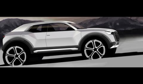 Oficial: el Audi Q1 llegará en 2016 (primera imagen)