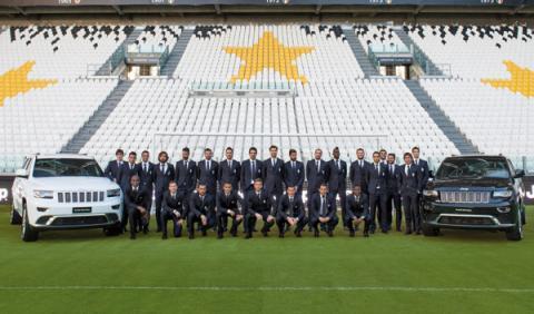 Jeep Grand Cherokee para los jugadores de la Juventus