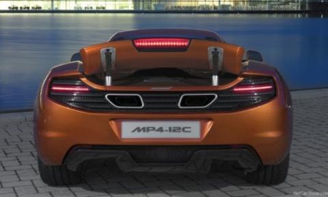 McLaren MP4-12C, nuevo coche de la Policía de Dubai