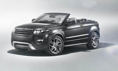 Range Rover descapotable, sorprendido circulando por Dubai