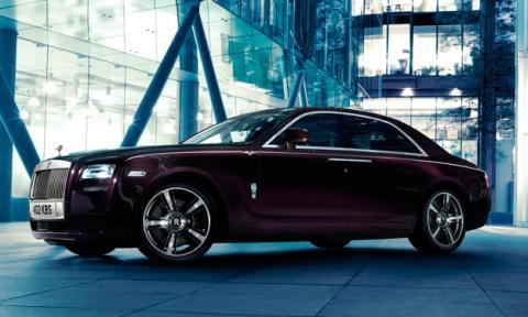 Rolls-Royce Ghost V-Specification delantera