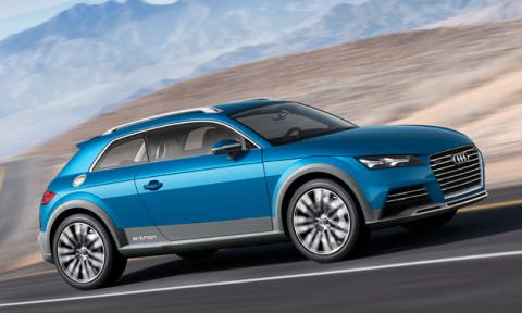 Audi allroad shooting brake delantera