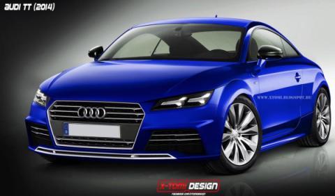 Así podría ser el nuevo Audi TT 2015